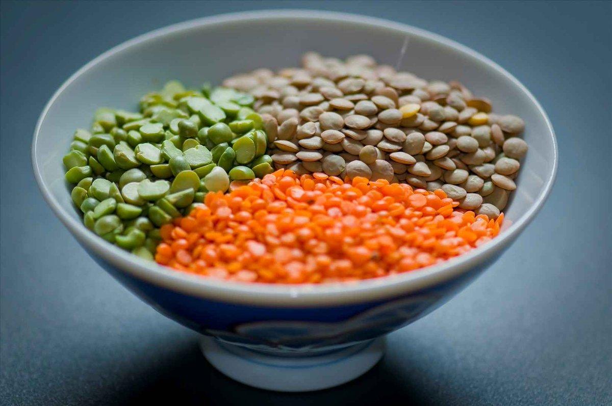 Сколько калорий в чечевице разного вида