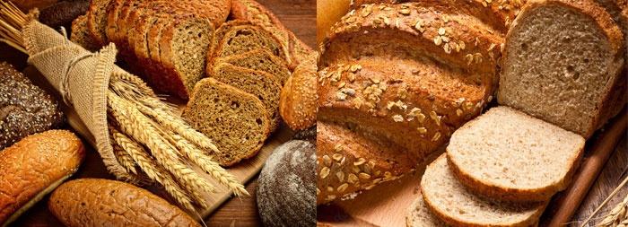 Жиров хлеб содержит мало – от 0,6 до 3%.