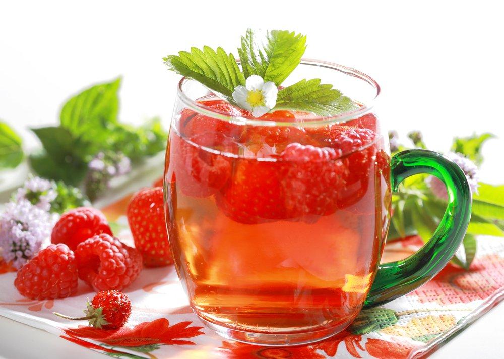 Чай с малиной при температуре беременным