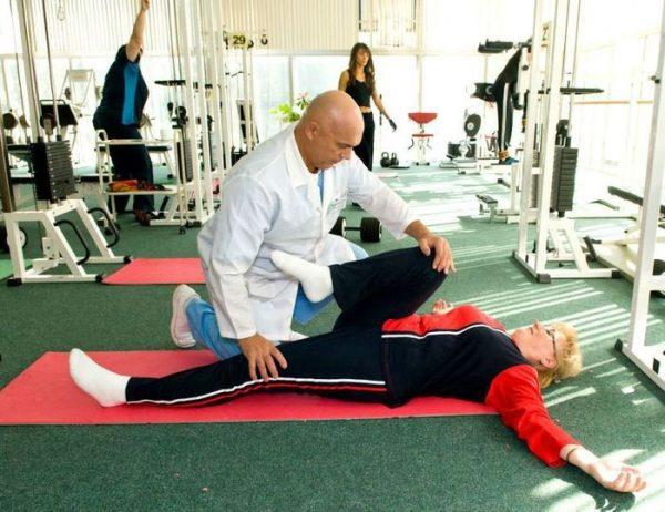 Лечение поясничного остеохондроза по бубновскому -