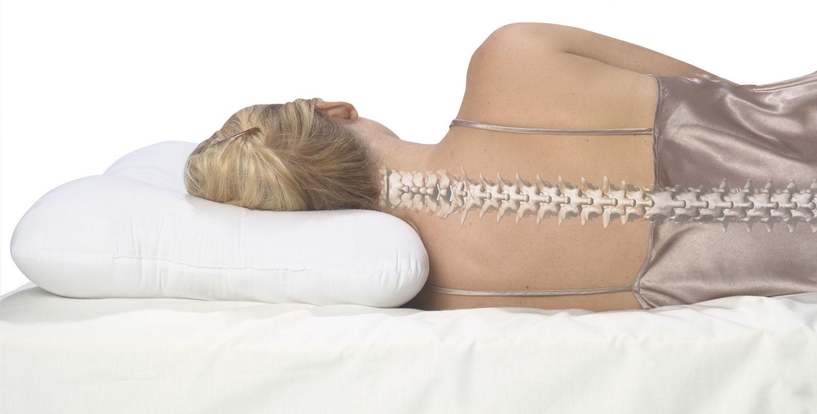 Как спать при грыже поясничного и шейного отдела позвоночника: как выбрать ортопедический матрас и подушку{q}