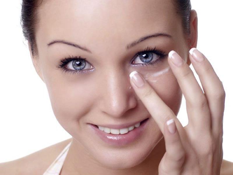 Маска для глаз от морщин с витамином е