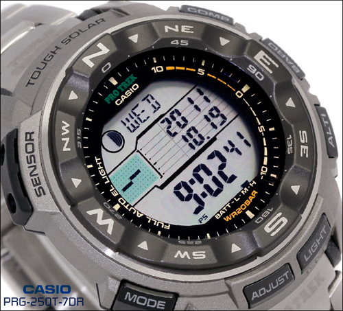 Casio PRG-250T циферблат