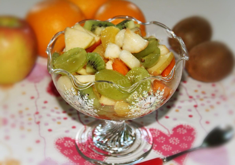 Салат из фруктов рецепт картинки