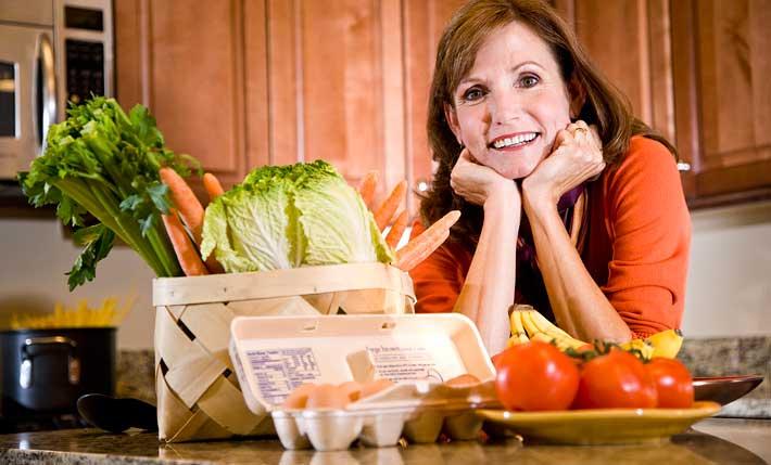 Питание и диета при климаксе: полезные продукты, меню | климакс 24.