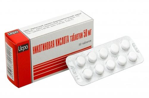 Никотиновая кислота для похудения  инструкция по применению
