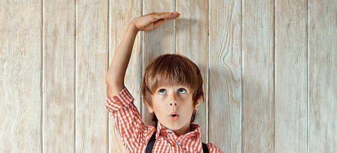 Рост ребенка в 8 лет норма мальчиков