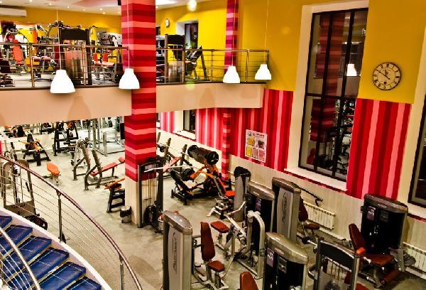 Фитнес клуб фото бар