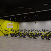 Фитнес клуб Come One Gym Авиапарк